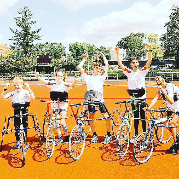 The England national Racerunning squad